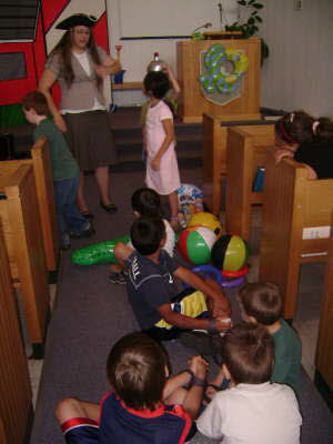 VBS 2007 - acting out the Bible story